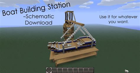 Minecraft Boat Building Guide by Boat Building Schematic Download Minecraft Project