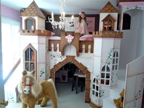 Children's Castle Theme Beds   Traditional   Kids   houston   by Sweet Retreat Kids
