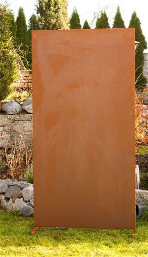 Garten Im Quadrat  Moderne Sichtschutzwand Blanko
