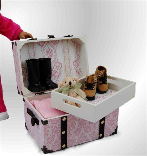 american doll furniture doll steamer trunk for american 168 doll accessories
