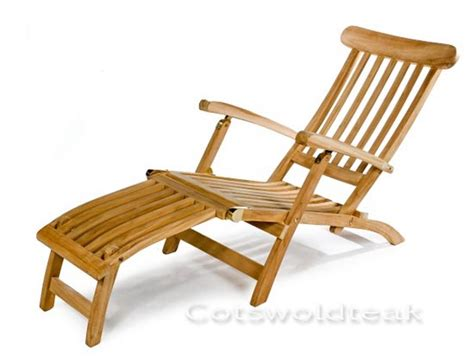 wooden steamer chair with cushion special offer from