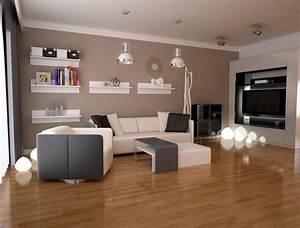 Moderne Tische Für Wohnzimmer : 40 moderne wandfarben ideen f r das wohnzimmer ~ Markanthonyermac.com Haus und Dekorationen