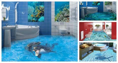 14 Unique 3d Bathroom Floor Designs That Will Blow Your