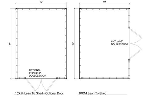 10x16 shed floor plans 10x16 lean to shed plans icreatables