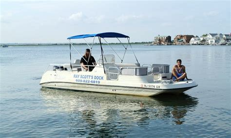 Party Boat Rental Margate Nj by Pontoon Boat Rental In Margate City New Jersey United