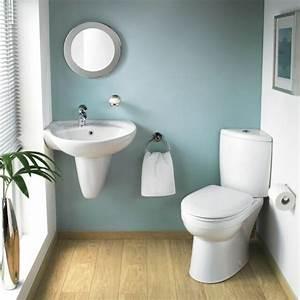 Wandgestaltung Gäste Wc : badezimmer wei und grau mit einer gr nen pflanze 30 super ideen f r kreative ~ Markanthonyermac.com Haus und Dekorationen