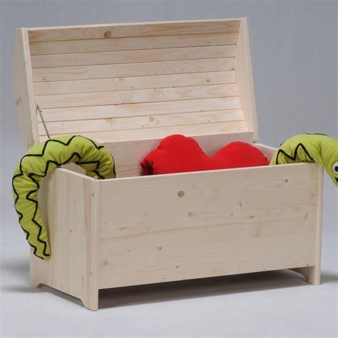 coffre 224 jouets bois sapin avec abattant anti pincement des doigts isaac port offert