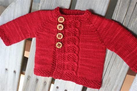 Baby Cardigan Sweater Knitting Patterns
