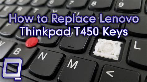 How To Replace Lenovo Thinkpad T450 Keys Youtube