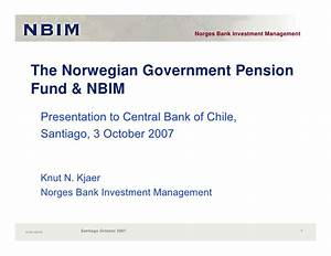 The Norwegian Government Pension Fund