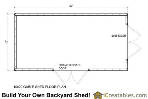 building plans for a 10 215 20 storage shed 187 woodworktips