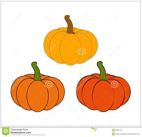Halloween Pumpkin Vector Illustration Isolated On White Background Vector Illustration