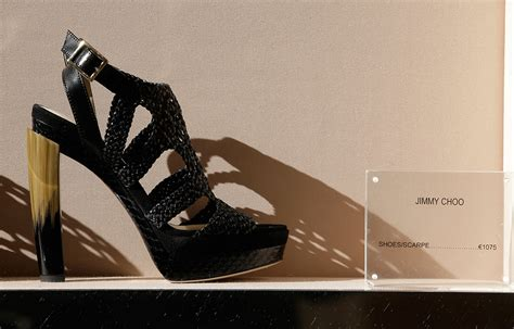 Designer Shoe Brand Jimmy Choo Puts Itself Up For Sale