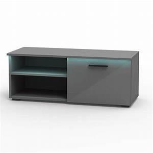 Tv Lowboard Grau : tv lowboard malibu in grau hochglanz mit led beleuchtung caro m bel ~ Markanthonyermac.com Haus und Dekorationen