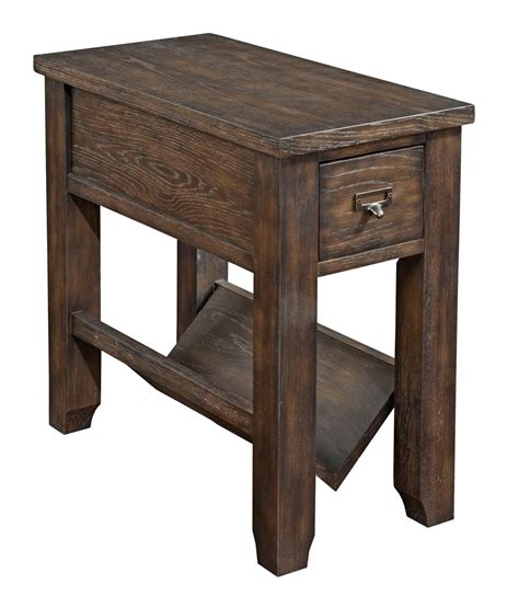 broyhill attic retreat chairside table 4990 004