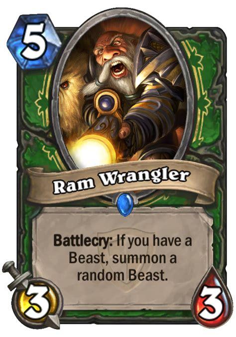 ram wrangler hearthstone card