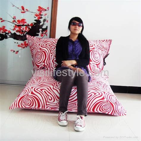 fatboy rectangle bean bag bb108 visi china manufacturer leisure furniture furniture