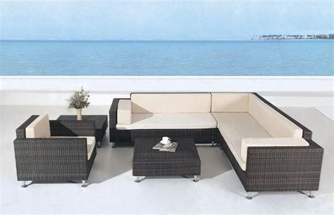 avrim patio sectional sofa set tropical outdoor lounge