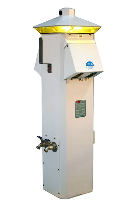 Eaton Lighthouse Ss Power Pedestal  Marina Products
