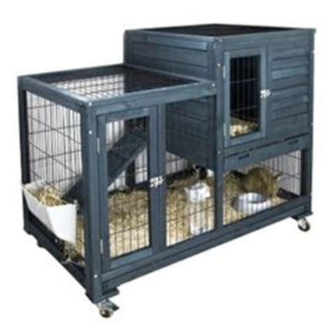 cage lapin clapier pour lapin bois cottage pour nos amis les animaux