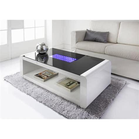 Led Infinity Coffee Table  Living Room Furniture B&m