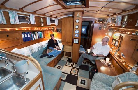 Living On A Boat Full Time Uk by Eccentric Live Aboards Choose To Live On Their Boats