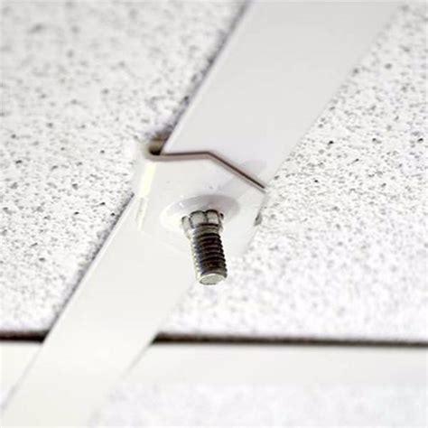 fixation pour faux plafond x10 pour signal 233 tique suspendue