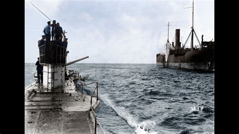 U Boat Watch Price Indonesia by U Boat Footage Ww1 In Color Doovi