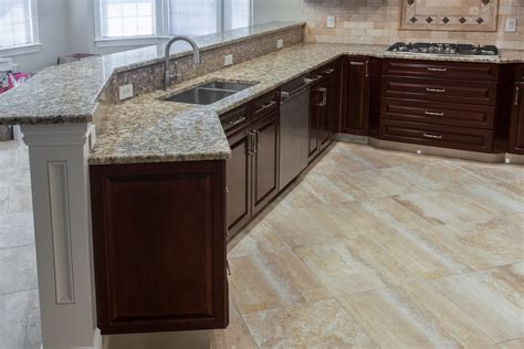 The Benefits Of Marble And Granite Floors; Kitchen Design