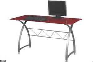bureau avec plateau en verre tremp 233 15 mod 232 les de bureaux pour bosser avec plaisir c 244 t 233 maison fr