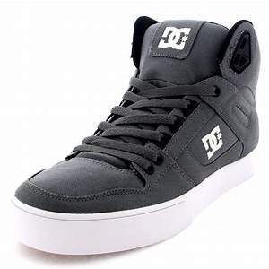 Mens DC Shoes Spartan High Textile Lace Up High Top Skate ...