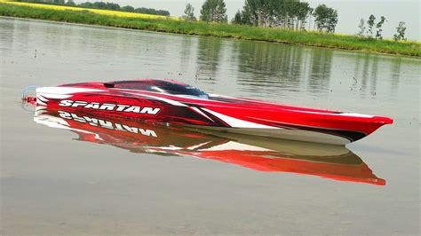 Toy Rc Fishing Jet Boat by Rc Adventures Traxxas Spartan First Run 4s Lipo