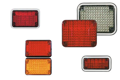 Code 3 4 X 6 Led Stopturntail And Reverse Lights 65stbzr