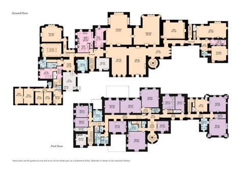 ayton castle floor plans castles palaces house