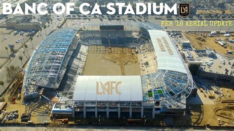 Lafc Banc Of California Stadium  Feb '18 Construction