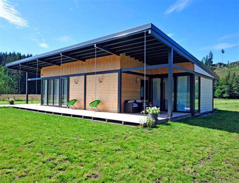 maison bois plain pied type loft nos maisons ossatures bois maison plain pied