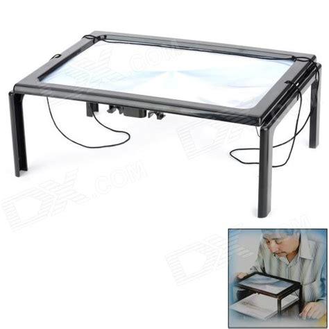 free desktop magnifier w led l for the elderly
