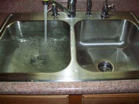 kitchen captivating clogged kitchen sink decor clogged