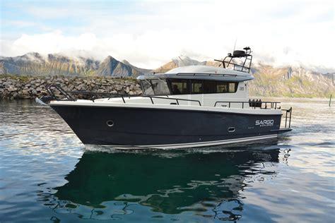 Huge Boat by Big Boat Halibut Fishing On Senja Mefjord Brygge