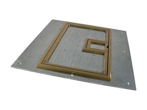 fsr fl 600p blp c ul cover w 1 4 quot brass carpet flange for fl 600p conference room av