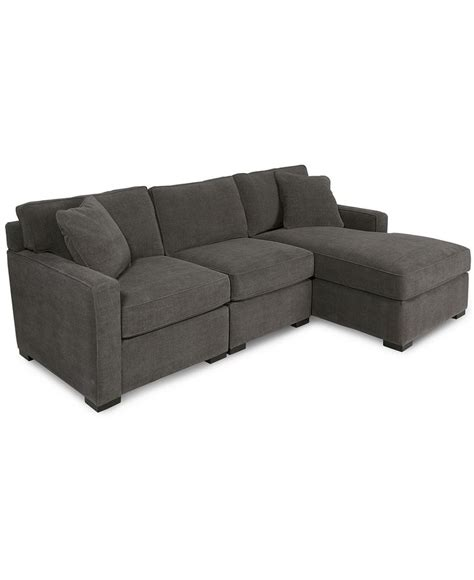 Radley Sectional Sofa Macys by Radley 3 Fabric Modular Chaise Sectional