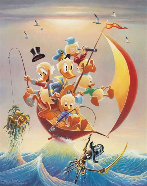 Sailing Spanish Main by Donald Duck And Uncle Scrooge Sailing The Spanish Main