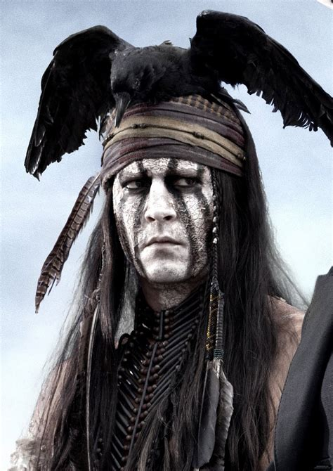 the lone ranger s tonto gets a johnny depp makeover vancouver s news
