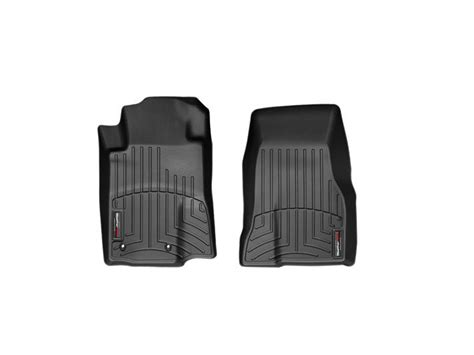 2010 2012 mustang weathertech digitalfit black front floor