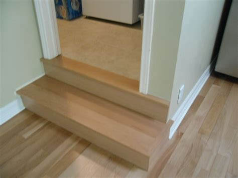 options for stair nosing in kitchen tiling contractor