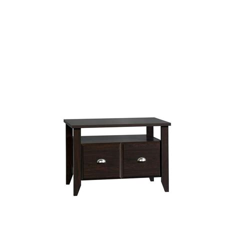 sauder shoal creek collection 1 drawer lateral file cabinet with utility stand 409944 the home