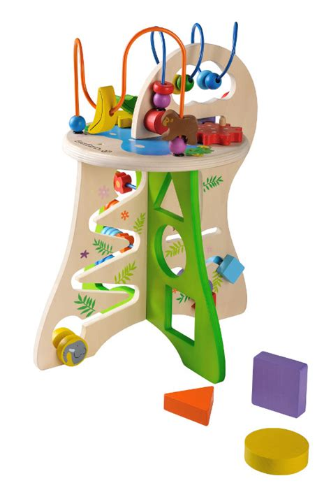 table d activit 233 safari jouet en bois everearth arche de n 201 o