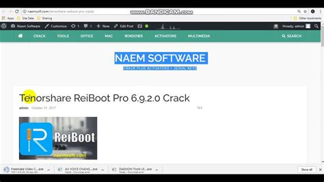 Reiboot Pro Crack by Tenorshare Reiboot Pro 6 9 2 0 Crack Plus Licence Key Is