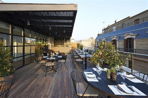 Roof Top Terrace : The Serras Hotel Barcelona