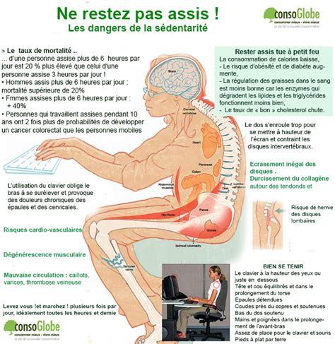 conseils pour bien se tenir au bureau et 233 viter les postures qui usent